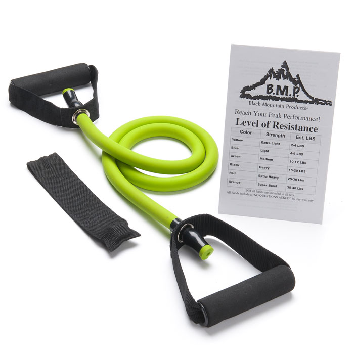 Exercise Bands With Handles Walmart: Single Atomic Resistance Band With Door Anchor