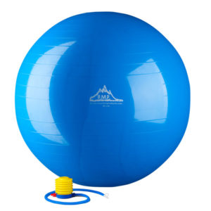 2000 LBS. STATIC STRENGTH STABILITY BALL WITH PUMP - BLUE