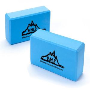 "Black Mountain Products Set of Two Yoga Blocks 3"" x 6""x 9"""