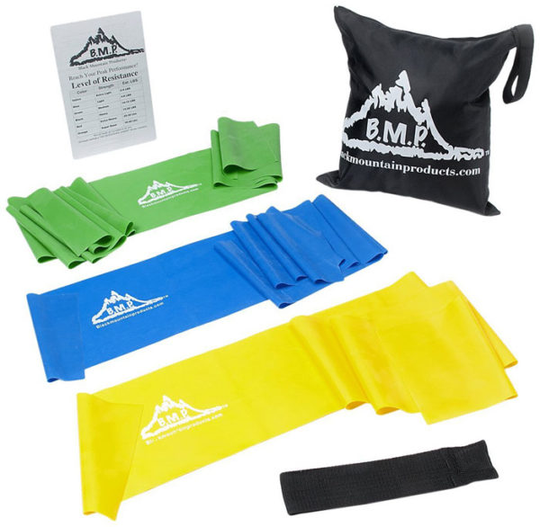 Therapy Resistance Exercise Bands Set of 3