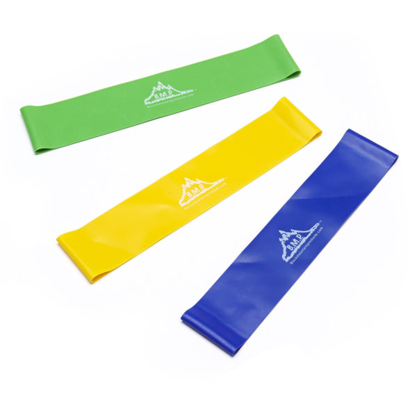 Set of 3 Exercise Loop Bands