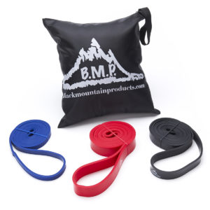 Strength Loop Resistance Bands Set of 3 - Assisted Pull Up Bands