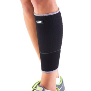 Lightweight and Breathable Black Calf Brace / Compression Sleeve