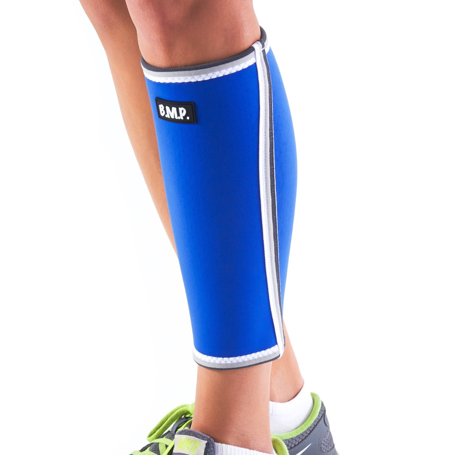 ddc2a9af8a0 Calf Compression Sleeve - Therapeutic Warming Sensation - Extra Thick