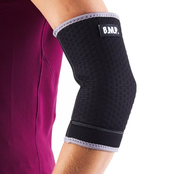 Breathable Neoprene Black Elbow Brace / Compression Sleeve