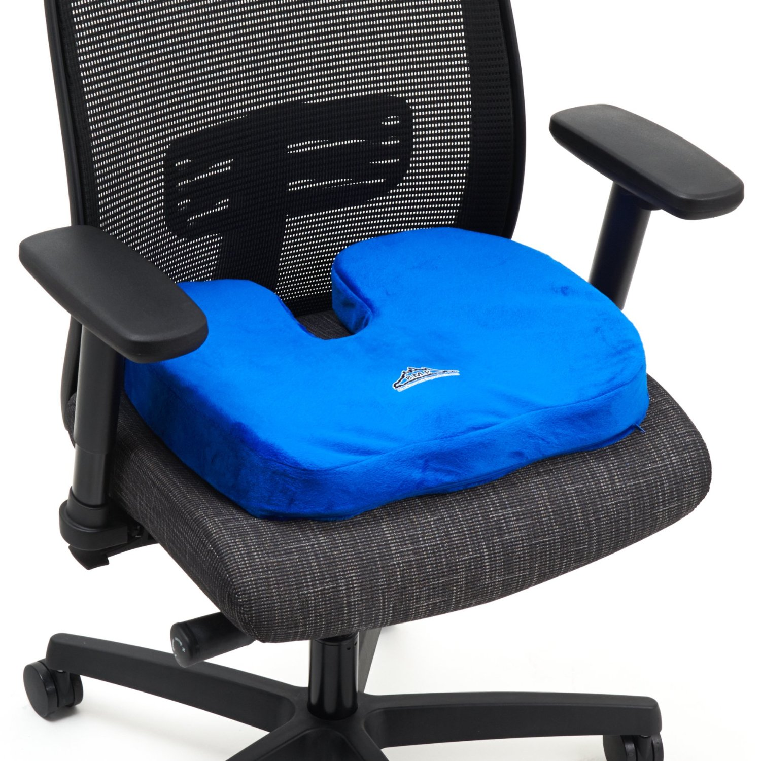 Black Mountain Products Orthopedic Comfort Stadium Seat Cushion Black