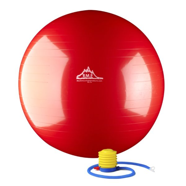 2000 Lbs. Static Strength Stability Ball with Pump - Red
