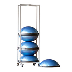 Small Storage Rack For Bosu Black Mountain Products