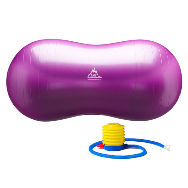 Peanut Stability Ball with Pump 1000lb Static Weight Capacity