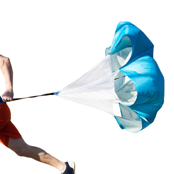 Black Mountain Products Running Parachute Resistance Speed Trainer
