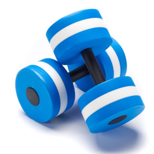Black Mountain Products Aquatic Exercise Water Dumbbells Set of 2