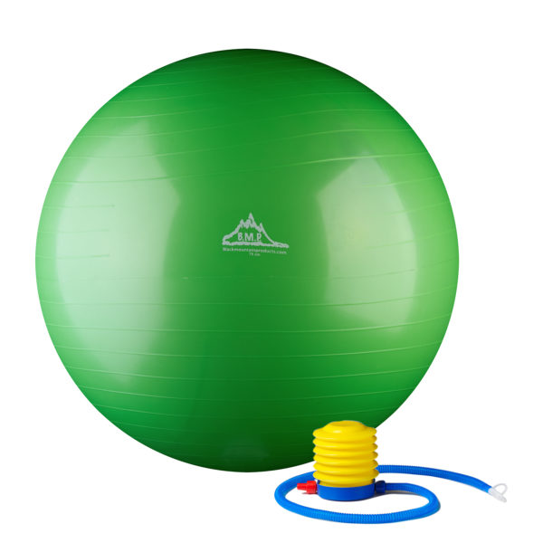 2000 Lbs. Static Strength Stability Ball With Pump - Green