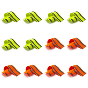 Safety Reflective Running Bands - Pack of 10 or 12
