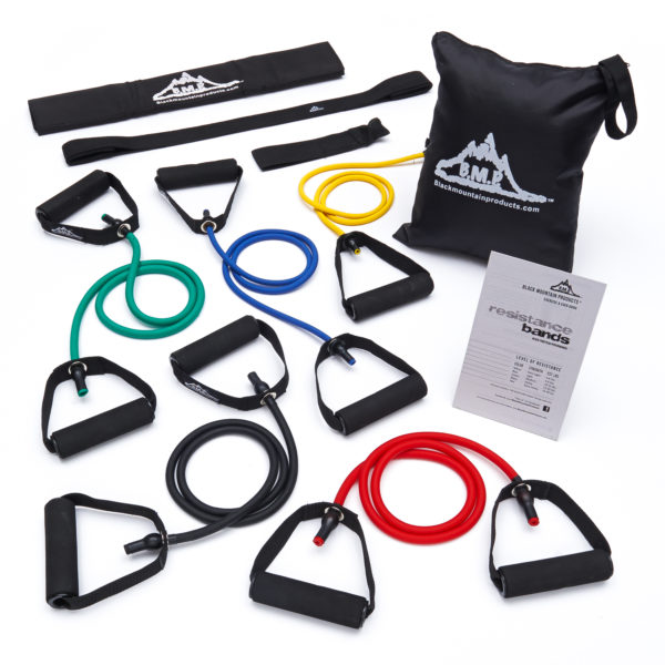 Resistance Band Set of 5 - With Accessory Kit