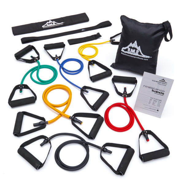 Resistance Band Set of 6 - With Accessory Kit