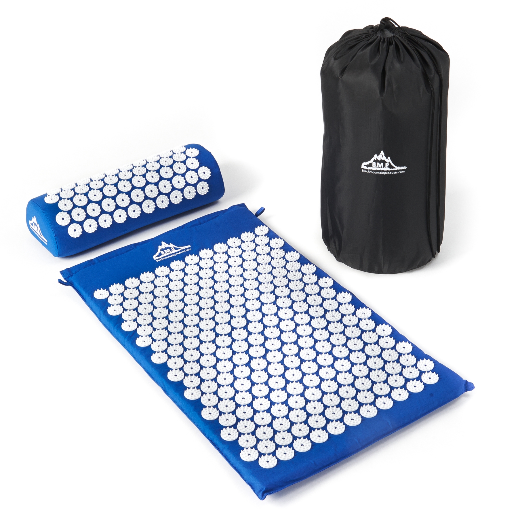 Black Mountain Products Acupressure Mat With Pillow And