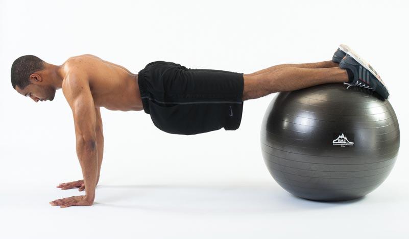 Stability Ball Jackknifes