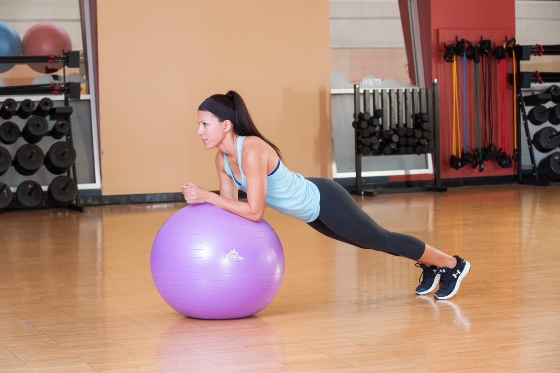 stablity ball workout