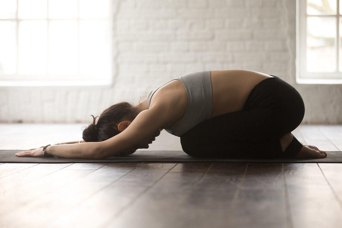 Yoga Childs Pose