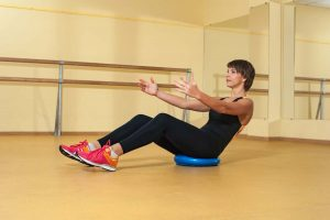 Exercises on a Stability Disc to Help with Back Issues