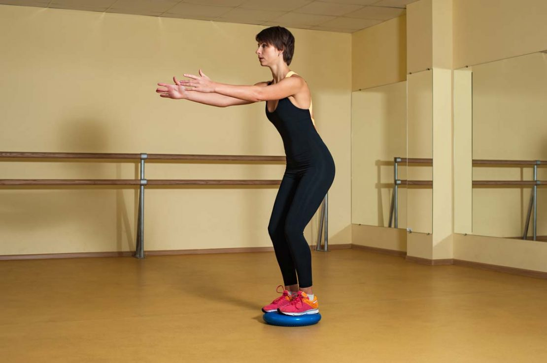 Stability Disc Exercise Warm Up