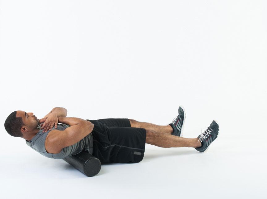 Foam Roller Exercise Lower Back