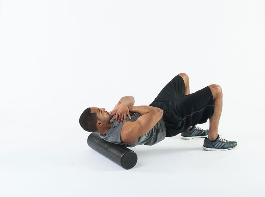 Foam Roller Exercise Upper Back
