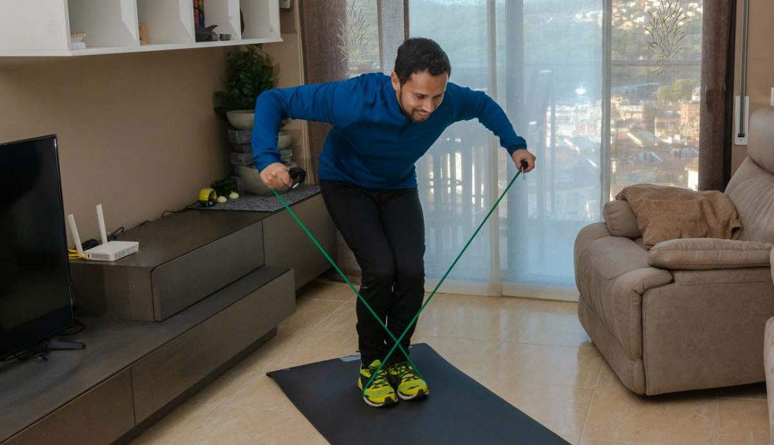 Resistance Band Exercises Reverse Fly